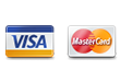 Visa and Mastercard are accepted in all virtual casinos