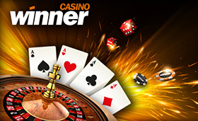 Choose one of the many bonuses offered by Winner Casino